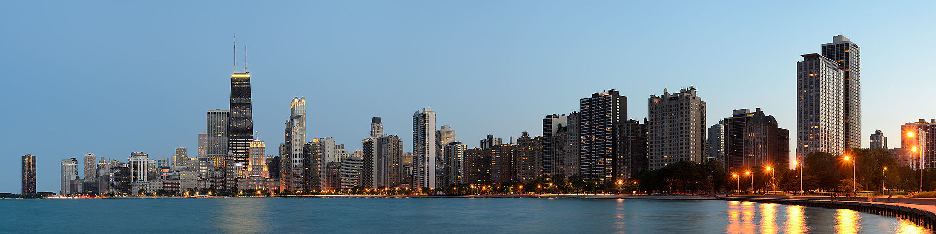 Chicago from North Avenue Beach